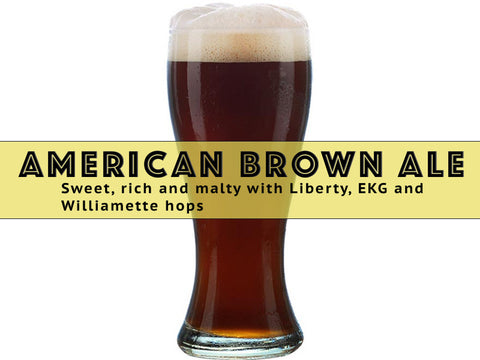 American Brown Ale - Grain To Glass Extract Beer Kit - Grain To Glass