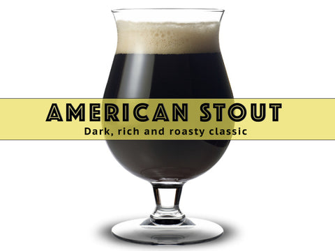 American Stout - Grain To Glass Extract Beer Kit - Grain To Glass