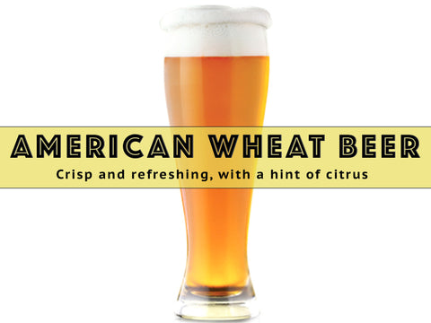 American Wheat Beer - Grain To Glass Extract Beer Kit - Grain To Glass