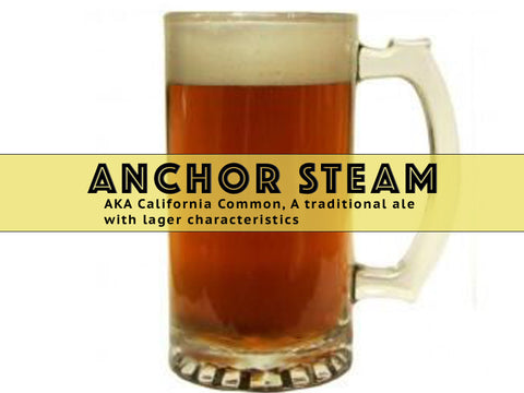 Anchor Steam (California Common) - Grain To Glass Extract Beer Kit - Grain To Glass