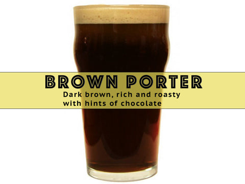 Brown Porter - Grain To Glass Extract Beer Kit - Grain To Glass