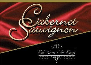 Ultra Wine Label - Cabernet Sauvignon (Red Satin) - Grain To Glass