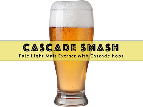 SMaSH Cascade - Grain To Glass Extract Beer Kit - Grain To Glass