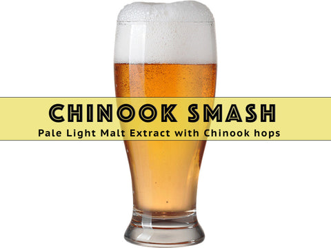 SMaSH Chinook - Grain To Glass All Grain Beer Kit - Grain To Glass