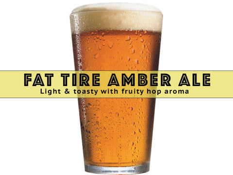 Fat Tire Amber Ale  - Grain To Glass Extract Beer Recpe Kit