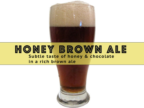 Honey Brown Ale - Grain To Glass Extract Beer Kit - Grain To Glass