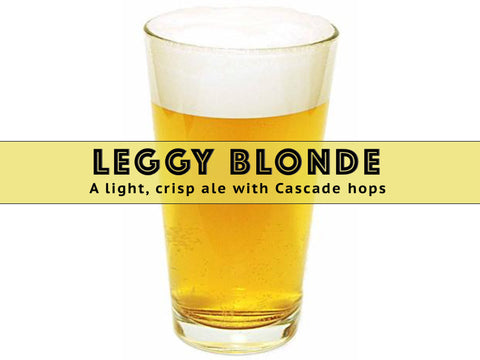 Cascading Blonde Ale - Grain To Glass Extract Beer Kit - Grain To Glass