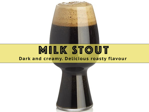 Milk Stout - Grain To Glass Extract Beer Kit - Grain To Glass