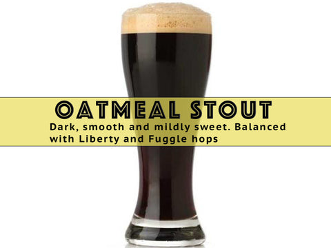 Oatmeal Stout - Grain To Glass Partial Mash Beer Kit - Grain To Glass