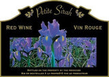 Adhesive Wine Label - Petite Sirah (Flowers) - Grain To Glass