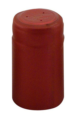 Shrink Cap - Solid Terracotta Red (30 Pack) - Grain To Glass