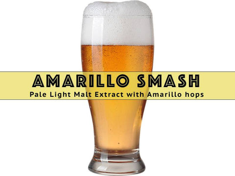 SMaSH Amarillo - Grain To Glass Extract Beer Kit