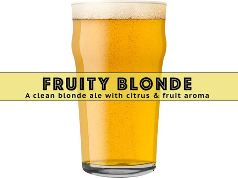 Fruity Blonde Ale - Grain To Glass Extract Beer Kit