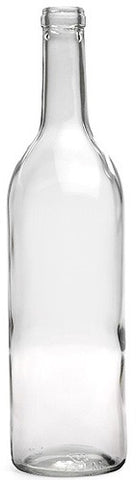 Bottles for Wine 750ml (Clear) - 12 Pack - Grain To Glass