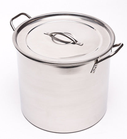 Brew Pot - 5 Gallon (Stainless Steel) - Grain To Glass