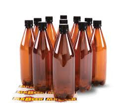 Beer Bottles PET 740ml (Coopers) - 15 Pack w/ Caps - Grain To Glass