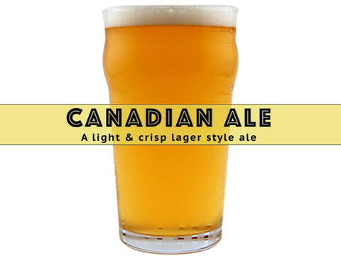 Canadian Ale - Grain To Glass Extract Beer Kit
