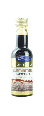 Essence Caramel Vodka 50 ml - Top Shelf