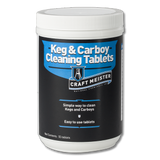 Keg and Carboy Cleaning Tablets (55 Count) - Craft Meister