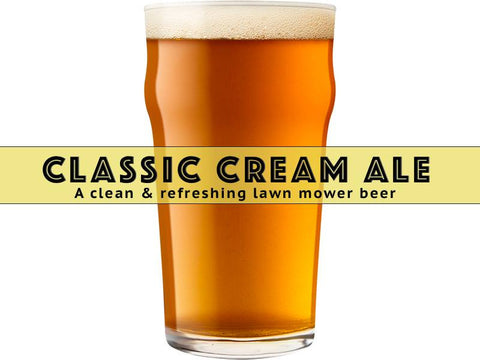 Classic Cream Ale - Grain To Glass Partial Mash Beer Kit