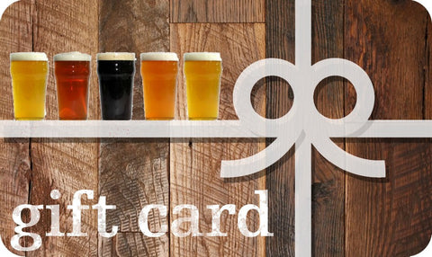 Grain To Glass Homebrew Supplies Gift Card