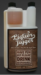 Big Liquor Jigger 34OZ (1 Liter) - Grain To Glass