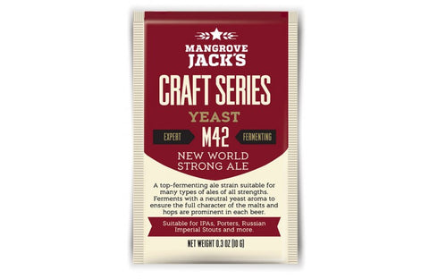 Mangrove Jack's M42 New World Strong Ale Dry Beer Yeast