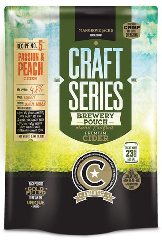 Peach & Passion Cider Kit - Mangrove Jack's