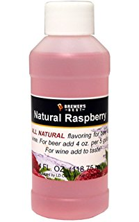 Natural Raspberry Flavoring 4OZ - Brewers Best