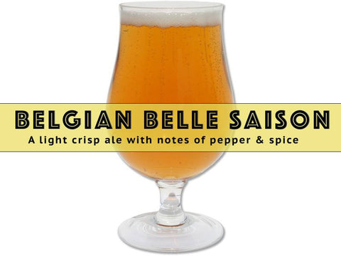 Belgian Belle Saison - Grain To Glass Extract Beer Recipe Kit