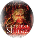 Ultra Wine Label - Shiraz (Mask)