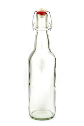Beer Bottles Glass 750ml Clear -
