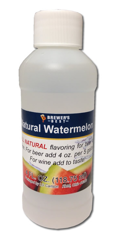 Natural Watermelon Flavoring 4OZ - Brewers Best