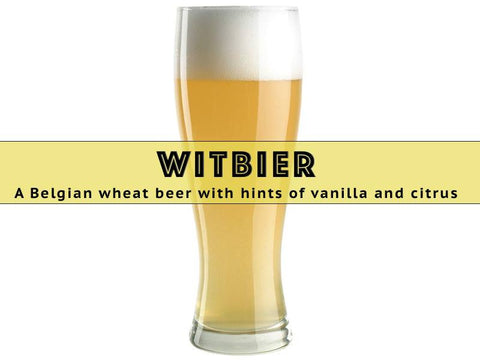 Witbier  - Grain To Glass Extract Beer Kit