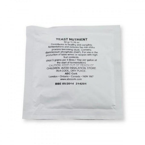 Yeast Nutrient 50g (Diammonium Phosphate) - Grain To Glass