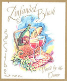 Adhesive Wine Label - Zinfandel Blush (Picnic) - Grain To Glass