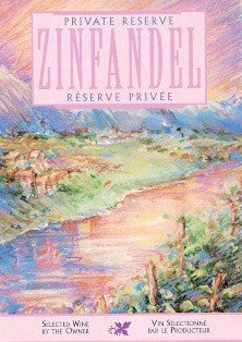 Ultra Wine Label - Zinfandel Private Reserve (Creek) - Grain To Glass
