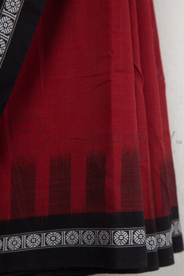 Maroon Siminoi Saree