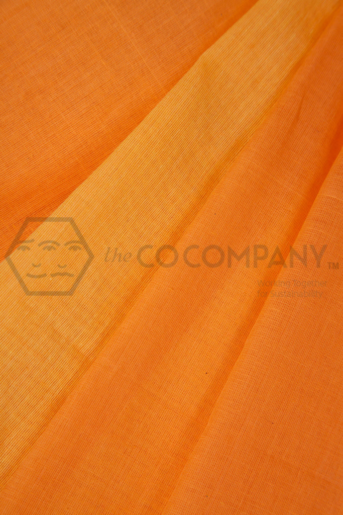 Orange Yellow Saree
