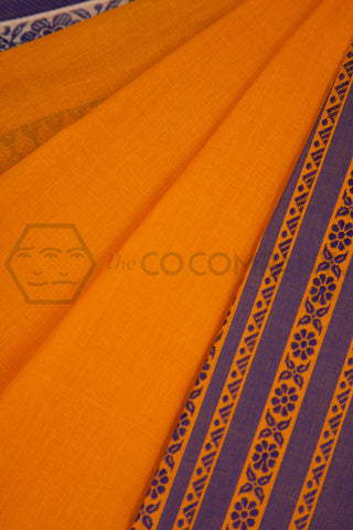 Narangi Cotton Saree