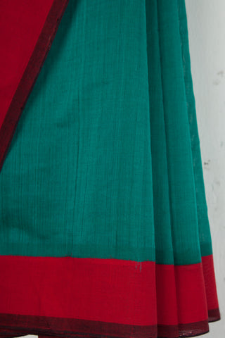 Sea Green Mangalgiri Saree