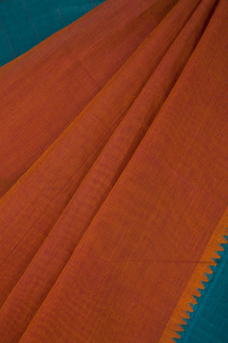 Rust Orange Dhoop Chaav Saree