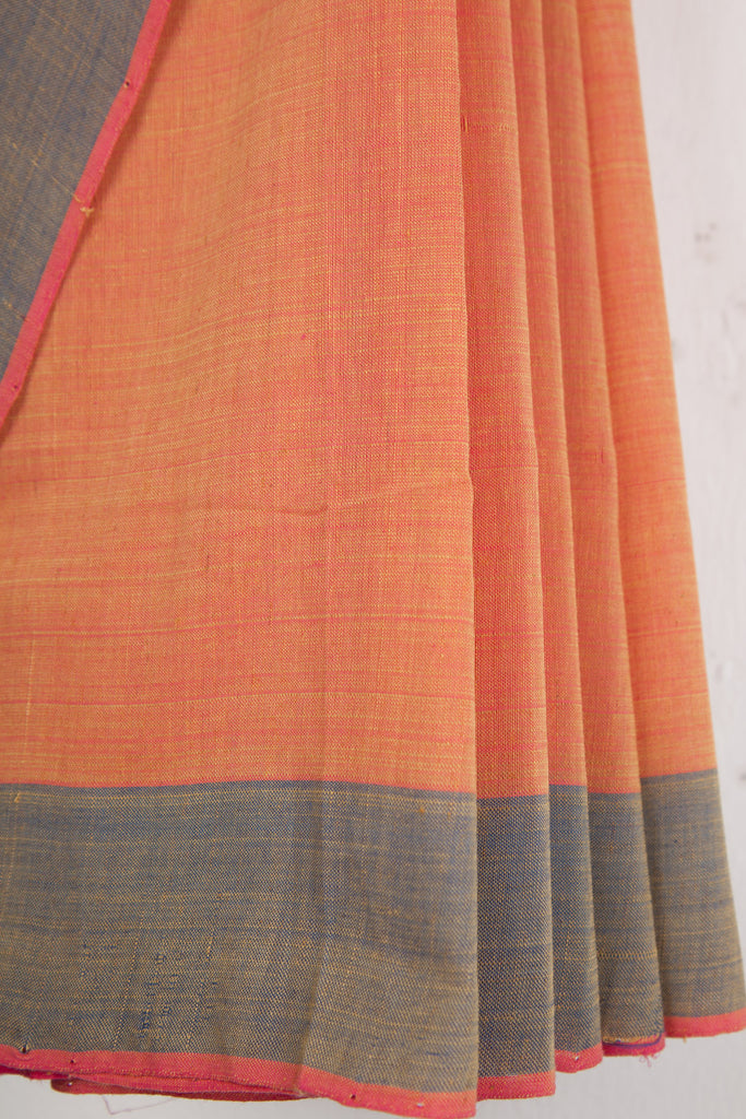 Yellow Pink Dhoop Chaav Saree
