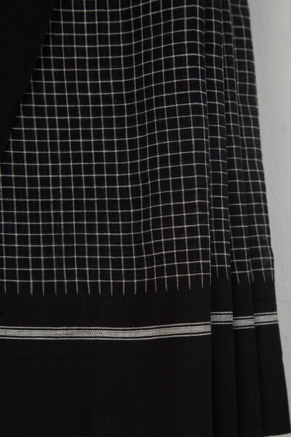 Black Checkered Pateda Anchu
