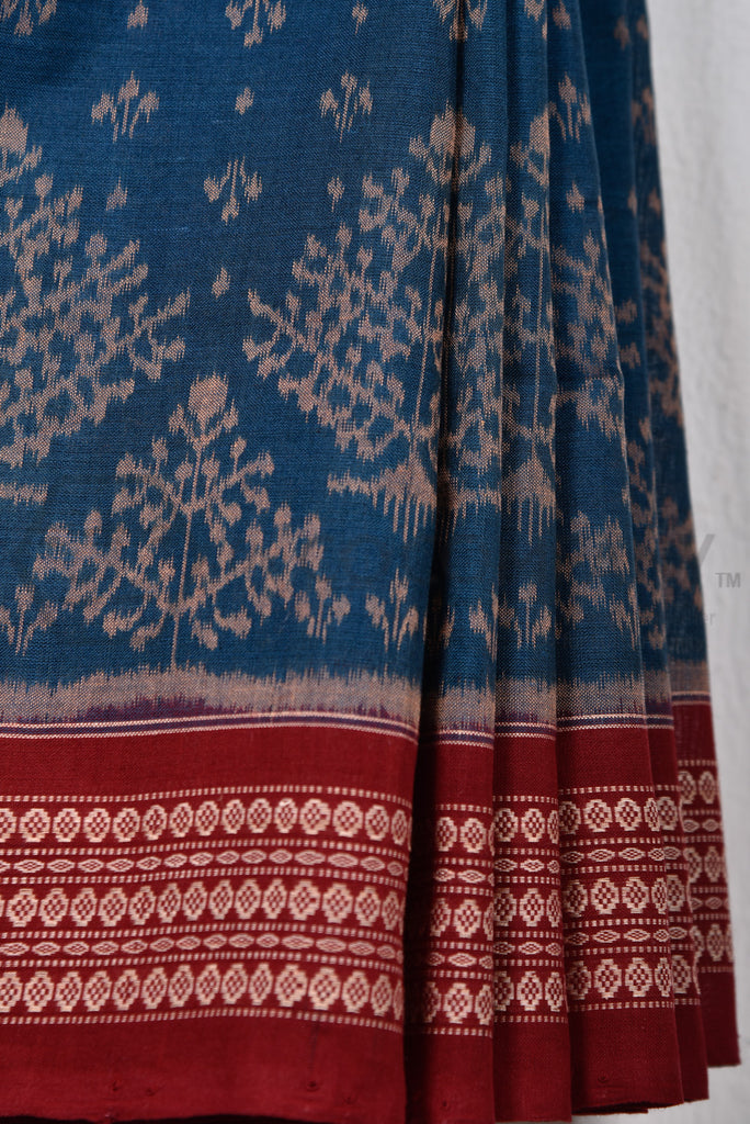 Sambalpuri Tree Buti Saree