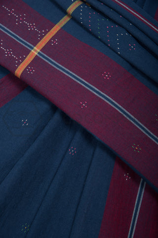 Blue Tangaliya Saree