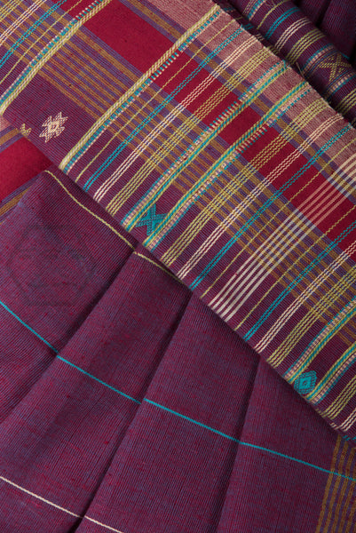 Dhoop Chaav Kala Cotton Bhujodi Saree