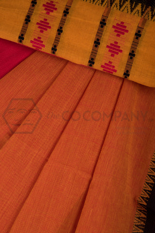 Bright Begampur Cotton Saree