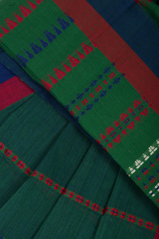 Green Blue Dhoop Chaav Begampur Saree
