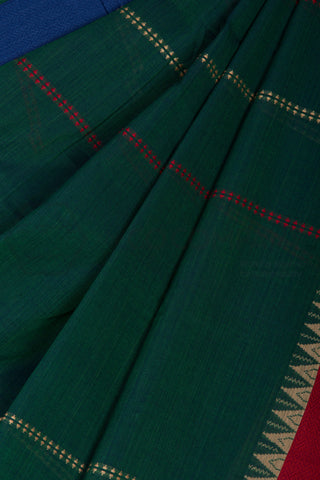 Green Begampur Saree